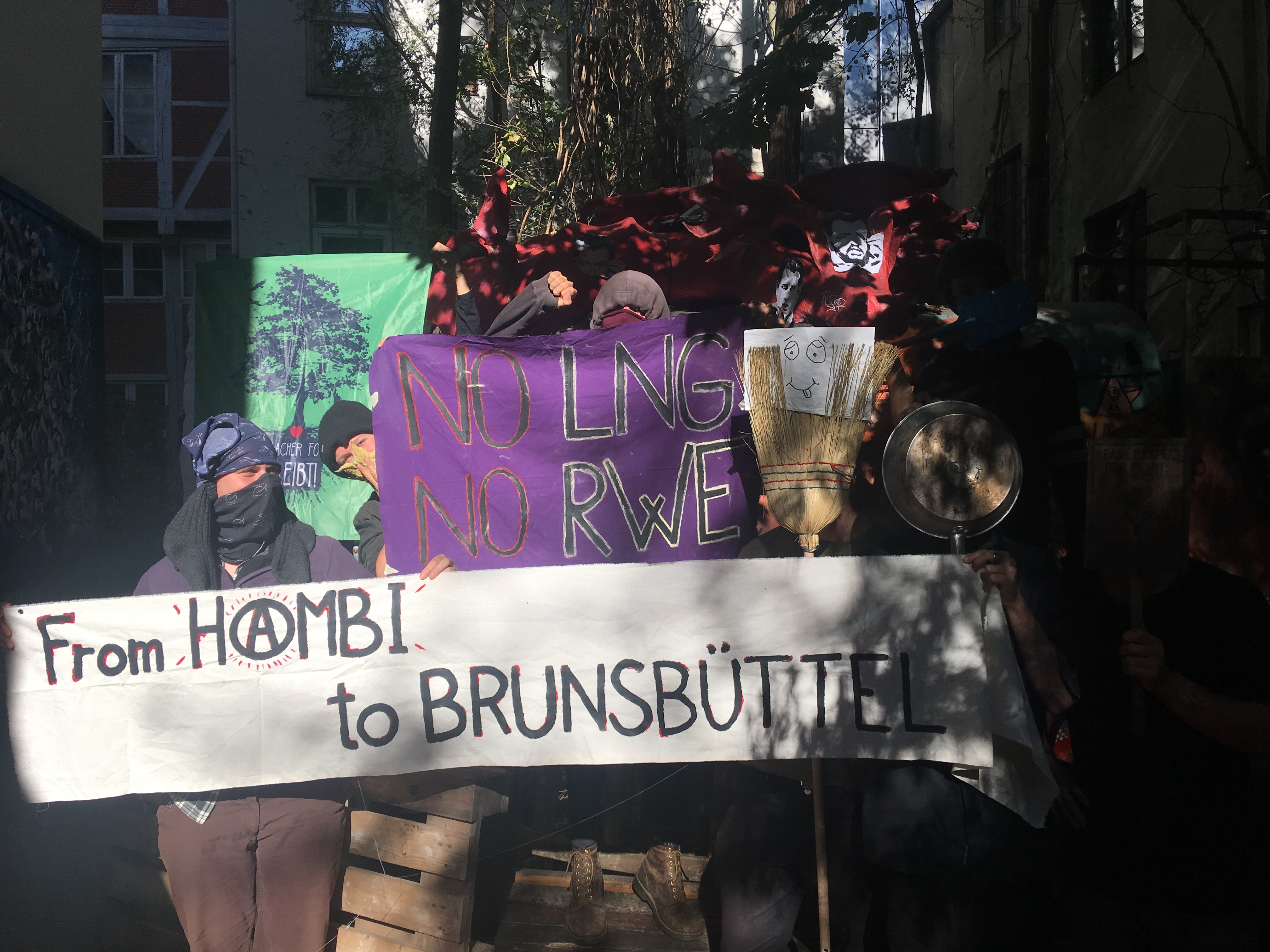 Solidarity with the anti-gas resistance in Brunsbüttel!